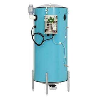 Extracteurs verticaux avec pompe submersible CDL Vertical extractors with submersible pump